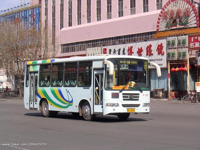 [城市风情]呼和浩特的公交车(贴图)