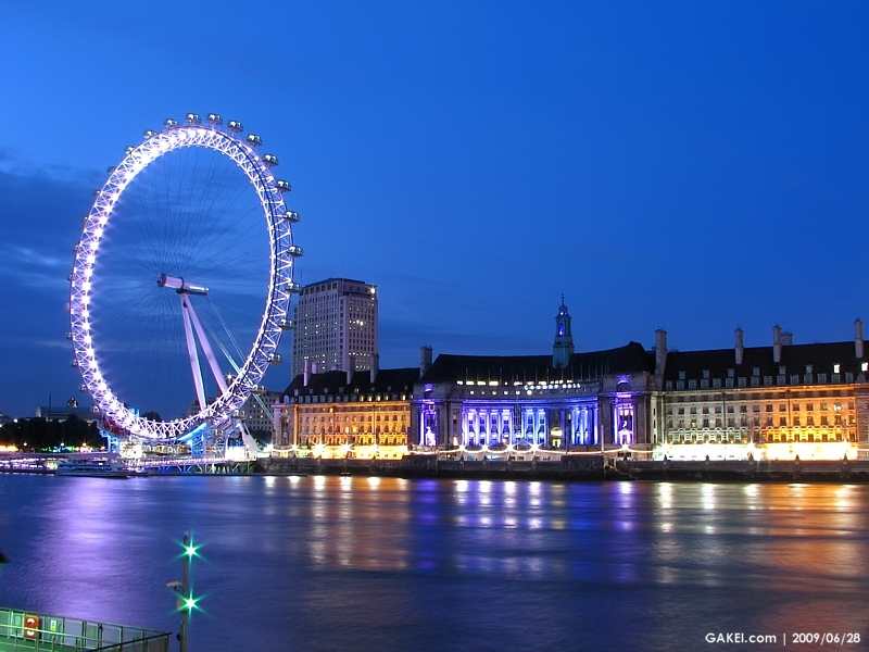 Gakei Com London Sceneries 倫敦城市風情