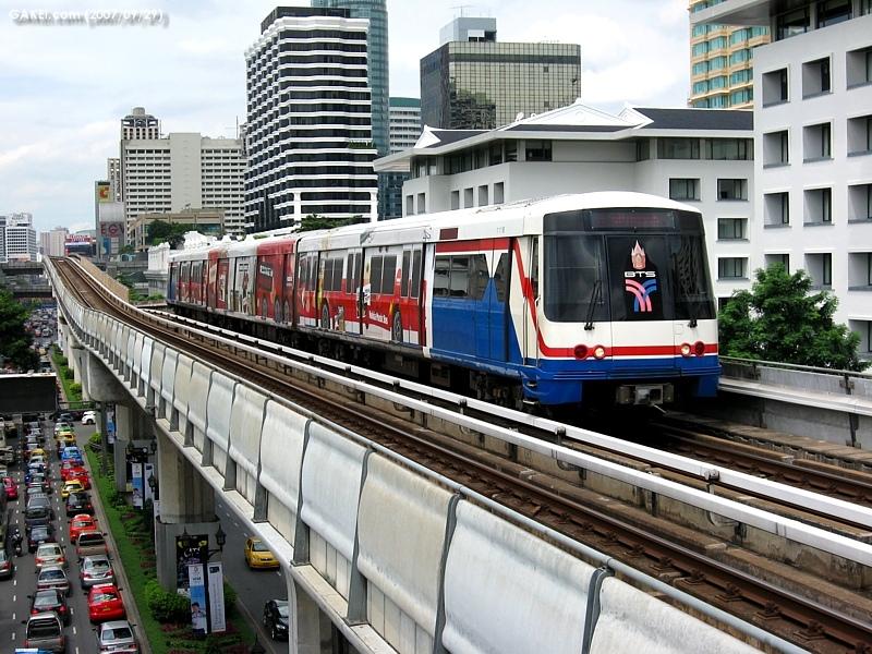 GAKEI.com  Bangkok BTS Skytrain and MRT